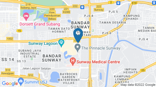 33 Boutique Hotel Map