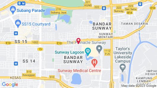 Sunway Pyramid Hotel Map