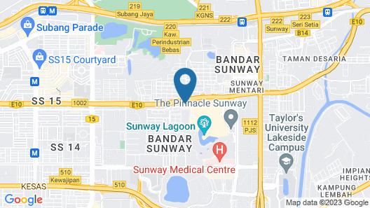Sunway Clio Hotel @ Sunway Pyramid Mall Map