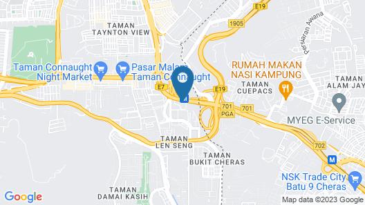 Silka Cheras Kuala Lumpur Map