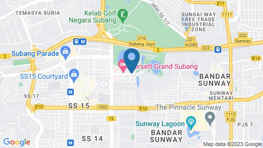Dorsett Grand Subang Map