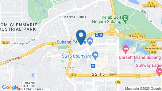 Empire Hotel Subang Map