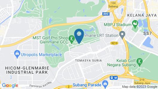 Holiday Inn Kuala Lumpur Glenmarie, an IHG Hotel Map