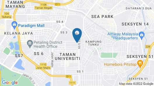 Ohana Luxury Bungalow Map