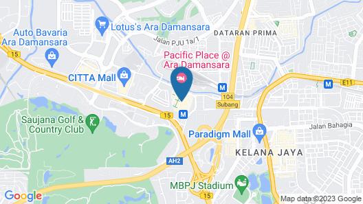 Pacific Place Ara Damansara Map