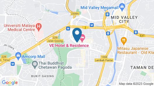 V E Hotel & Residence Map