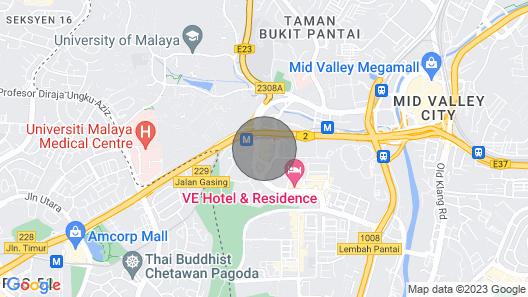 Kuala Lumpur Gateway Stay Special Map