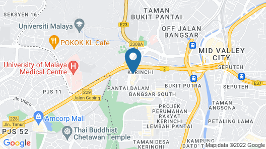 Juliana Vacation And Business Suites Map