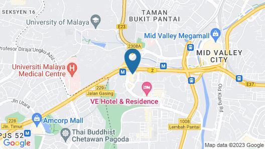 KL Gateway Bangsar By Sleepy Bear Map