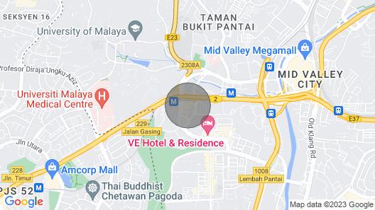 Klgateway Bangsar South#2 Bookinghomehotel Map