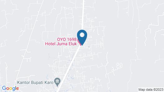 OYO 1698 Hotel Juma Eluk Map