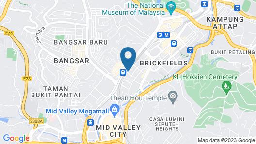 Alila Bangsar, Kuala Lumpur Map