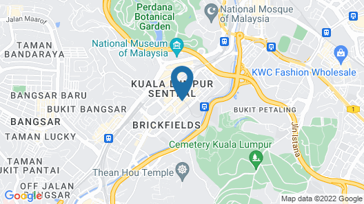 NU Hotel Map