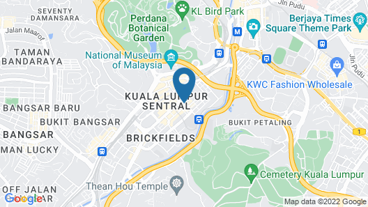 My Hotel @ Sentral Map