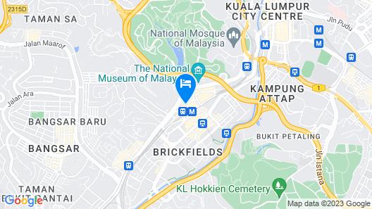 Hilton Kuala Lumpur Map