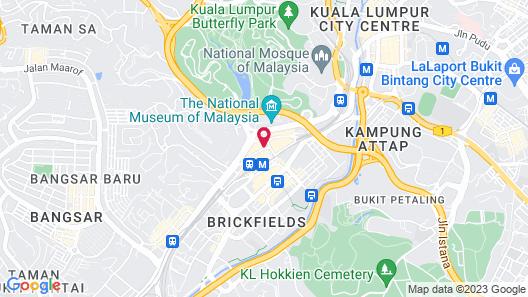 Le Méridien Kuala Lumpur Map