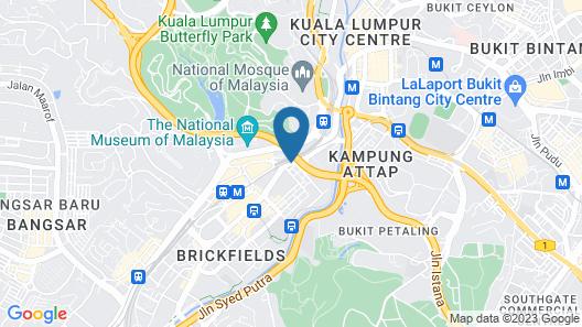 Scott Hotel KL Sentral Map