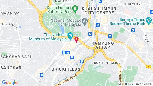 The St. Regis Kuala Lumpur Map