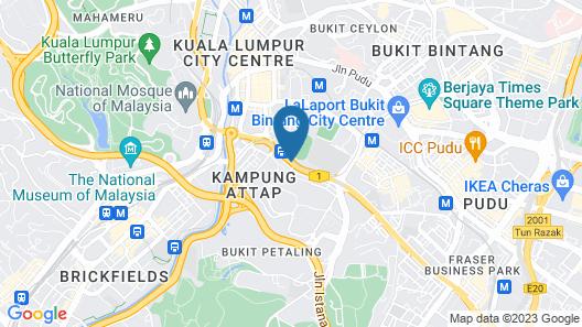 i-Hotel Kuala Lumpur Map