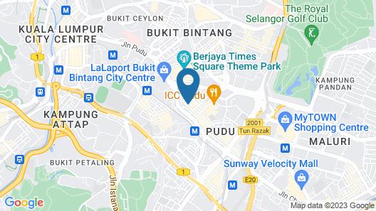 Urban Bird Hotel Map