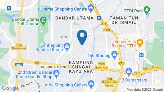 One Avenue Hotel, PJ Map