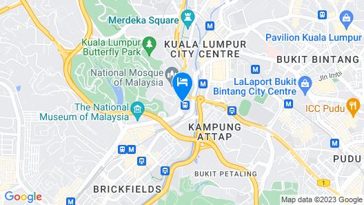 The Majestic Hotel Kuala Lumpur, Autograph Collection Map