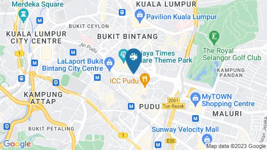Mercure Kuala Lumpur Shaw Parade Map