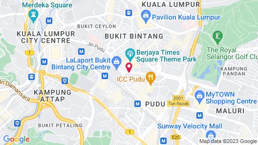 Furama Bukit Bintang Map