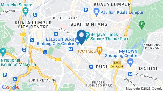 Ceria Hotel Bukit Bintang Map