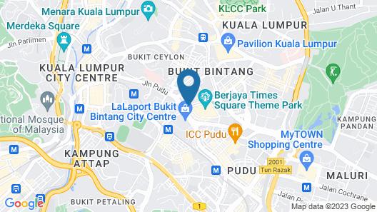Melia Kuala Lumpur Map