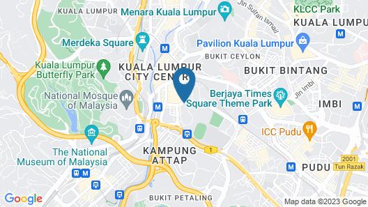 Swiss Inn Chinatown Kuala Lumpur Map