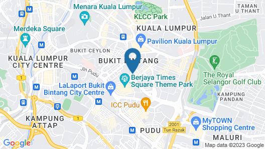 PARKROYAL Kuala Lumpur Map