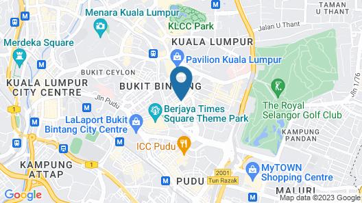 InnB Park Hotel Map