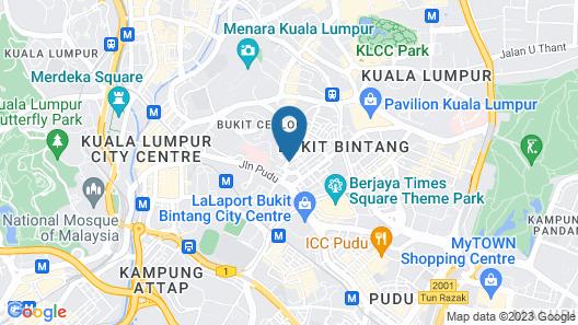 Anggun Boutique Hotel Map