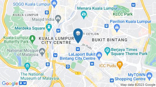 Sandpiper Hotel Map