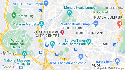 Citin Seacare Pudu by Compass Hospitality Map