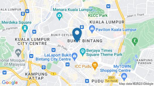 Rich Calton Bukit Bintang Map