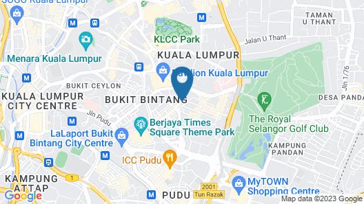 Victoria Home Bukit Bintang Map