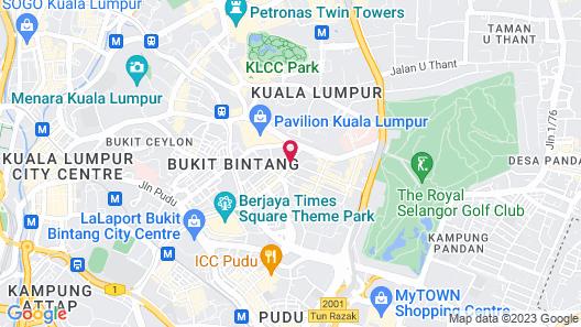 The Ritz-Carlton, Kuala Lumpur Map