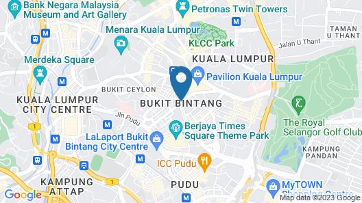 WOLO Kuala Lumpur Map