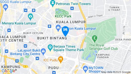 Dorsett Kuala Lumpur Map