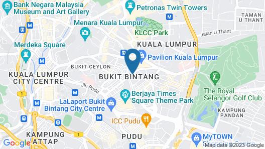 ANSA Kuala Lumpur Map