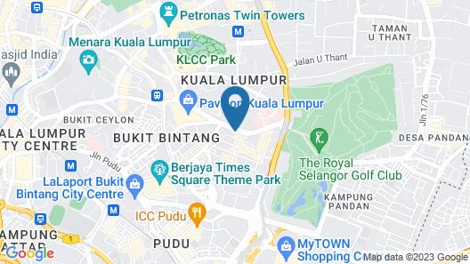 Kloe Hotel Map
