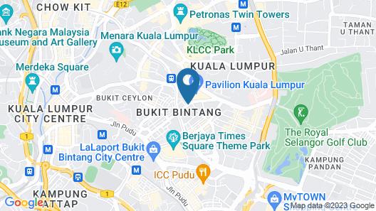 Grand Millennium Hotel Kuala Lumpur Map