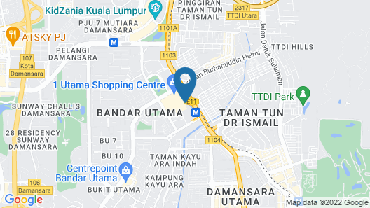 One World Hotel Map
