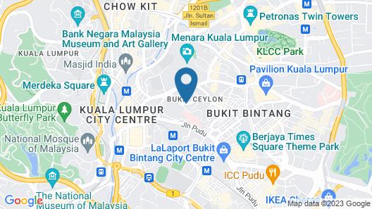 Lanson Place Bukit Ceylon Map