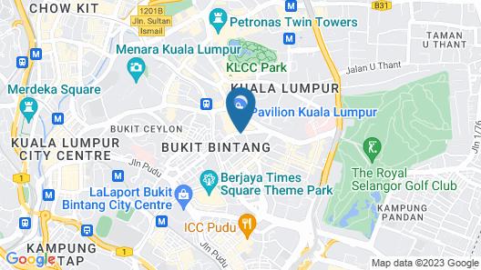 JW Marriott Kuala Lumpur Map