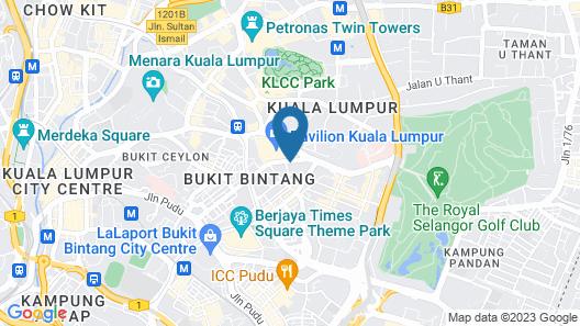 The Westin Kuala Lumpur Map