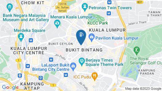 The Kuala Lumpur Journal Map