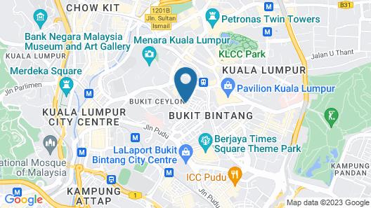 Hotel Twenty 8B Map